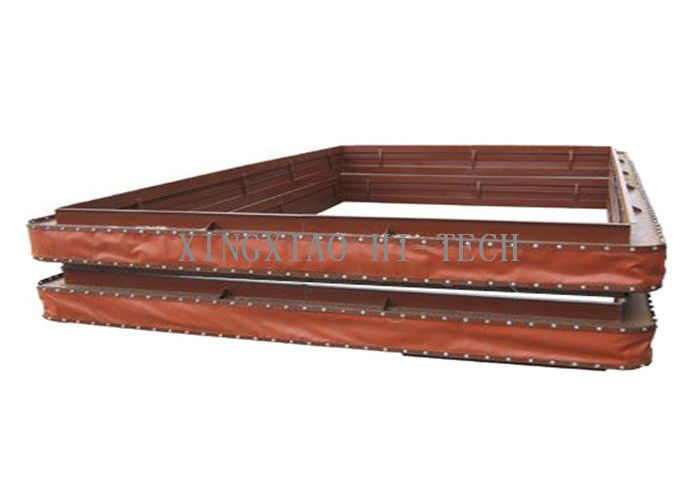 Non Metallic Fabric Expansion Joint Material , High Temperature Flue Duct Expansion Joints